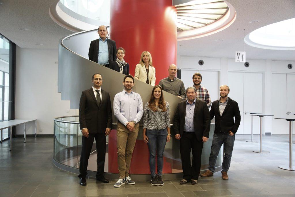 Bild vom Kick-off-Treffen des Projekts TrUSD